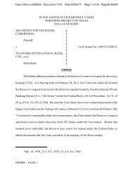 SEC v. Stanford International Bank Ltd. - Letters Blogatory