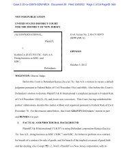 J&H International v. Karaca Zucciye Tic. San A.S. ... - Letters Blogatory