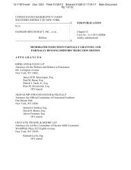 In re Hawker Beechcraft, Inc. (Bankr. S.D.N.Y. 2013) - Letters Blogatory