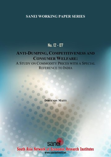 asia research institute working papers Working paper series / research institute of industrial working papers / economic research institute for asean and east asia (eria) citec is a repec.