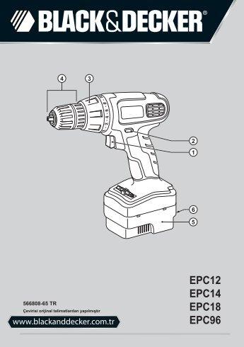 EPC12 EPC14 EPC18 TR - Service - Black & Decker