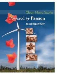 CNS Annual Report 2006-07 - Clean Nova Scotia