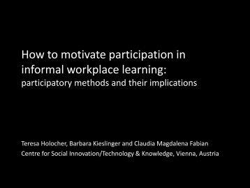 presentation slides - MATURE IP
