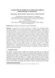 validación de modelos usando escenarios y ... - ResearchGate