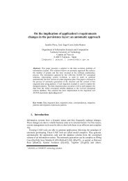 On the implication of application's requirements c... - ResearchGate