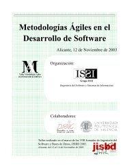 Metodologías Ágiles en el Desarrollo de Software - Ingeniería del ...