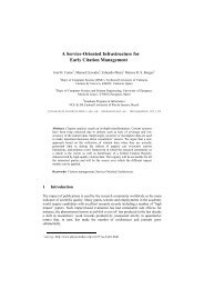A Service-Oriented Infrastructure for Early Citation Management - ISSI