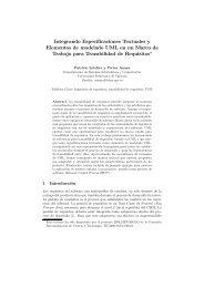 Integrando Especificaciones Textuales y Elementos de ... - Willy .Net