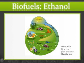 Biofuels - Agricultural and Resource Economics