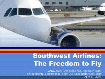 Southwest Airlines: The Freedom to Fly