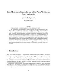 Can Minimum Wages Cause a Big Push? Evidence from Indonesia