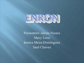 Presenters: Alexis Nunez Mary Love Jessica Meza-Dominguez Saul ...
