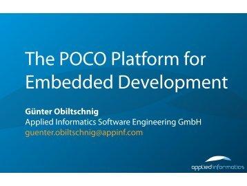 Günter Obiltschnig Applied Informatics Software Engineering Gmbh ...