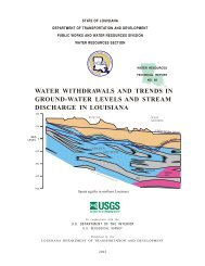 water withdrawals and trends in ground-water levels and stream ...