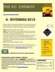 November 2012 - University of Missouri - Kansas City