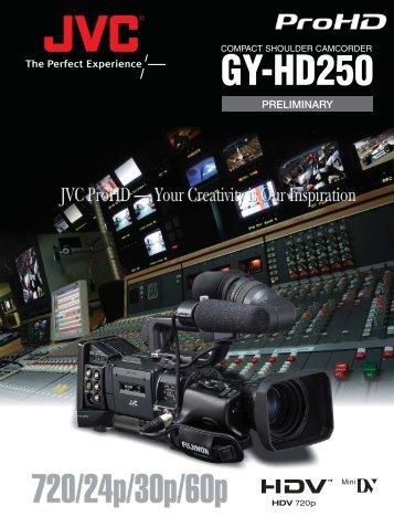 GY-HD250 - Computer Modules, Inc.