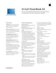 12-inch PowerBook G4 - Apple