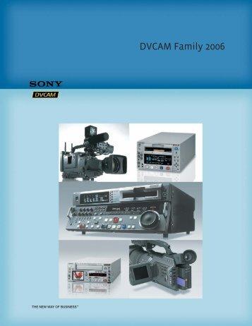 DVCAM Family 2006 - Sony