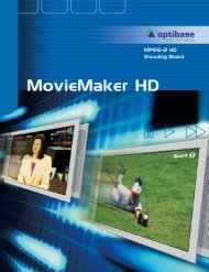 MovieMaker HD data sheet.pdf - Tierney Brothers Inc.