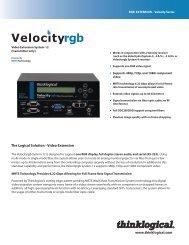 Velocityrgb System-12 Datasheet