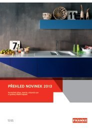 Přehled novinek 2013(14.13 MB, PDF) - Franke