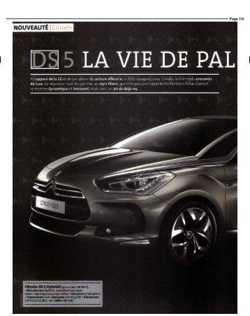 DS 5 LA VIE DE PAL