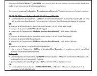 09.325 NOTE PRODUIT AGENTS TARIF DU 1 JUILLET 2009