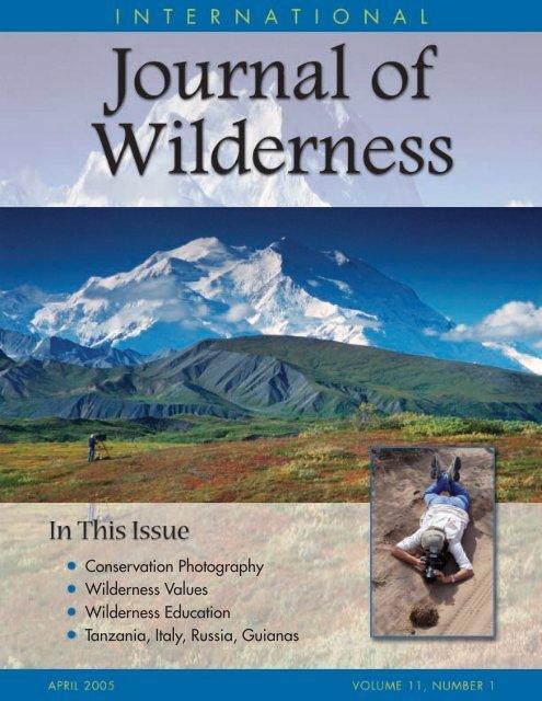 Download Full Pdf International Journal Of Wilderness