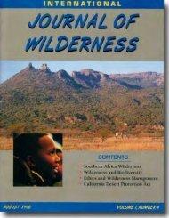 The California Desert Protection Act - International Journal of ...