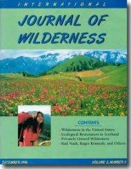 P3-Vol 2.No3 Dec 96 - International Journal of Wilderness