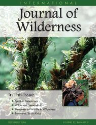 Download - International Journal of Wilderness