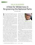 Download the August 2011 PDF - International Journal of Wilderness - Page 6