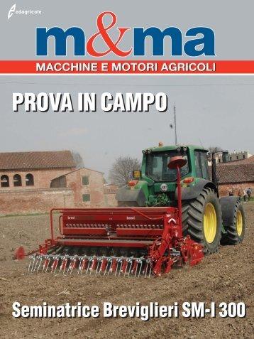 PROVA IN CAMPO Seminatrice Breviglieri SM-I 300 - B2B24