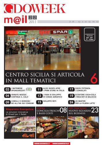 centro sicilia si articola in mall tematici - B2B24 - Il Sole 24 Ore