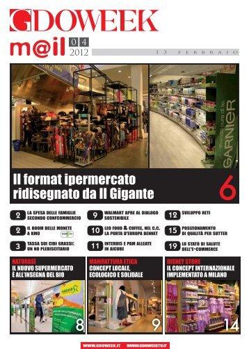 Il format ipermercato ridisegnato da Il Gigante - B2B24 - Il Sole 24 Ore