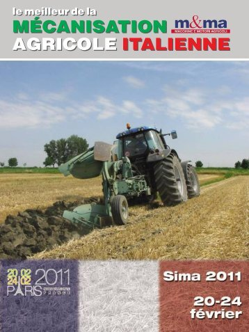 MÉCANISATION AGRICOLE ITALIENNE - B2B24 - Il Sole 24 Ore