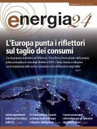 L'Europa punta i riflettori sul taglio dei consumi - B2B24 - Il Sole 24 ...