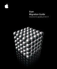 Xsan Migration Guide