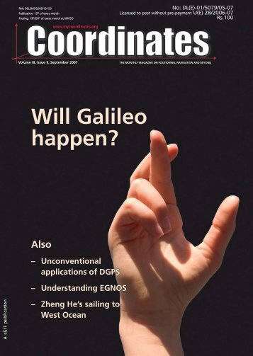 Will Galileo happen? - Coordinates