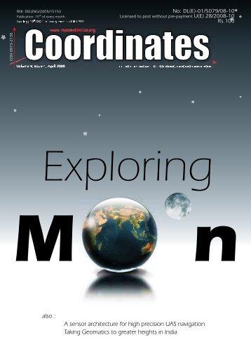 April 2009   - Coordinates
