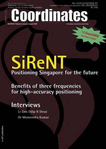 SiReNT - Coordinates