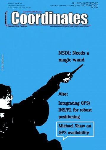 NSDI: Needs a magic wand - Coordinates