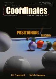 positioning - Coordinates