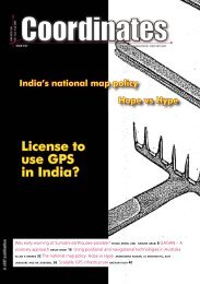 License to use GPS in India? - Coordinates