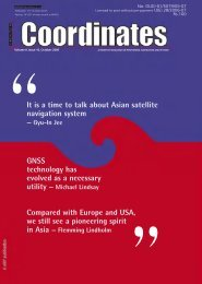 It is a time to talk about Asian satellite navigation ... - Coordinates