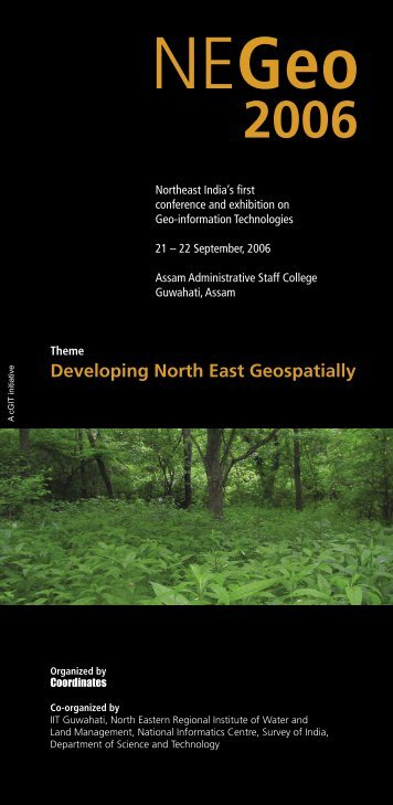 Developing North East Geospatially - Coordinates