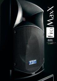 Speaker Systems - ProAudio