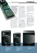 Speaker Systems - ProAudio - Page 3