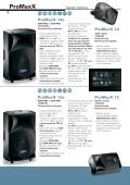 Speaker Systems - ProAudio - Page 6