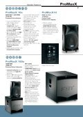 Speaker Systems - ProAudio - Page 7